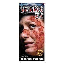 Picture of Trauma - Road Rash - Temporary Tattoos