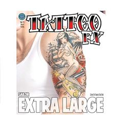 Picture of Extra Large Sailor Temporary Tattoo