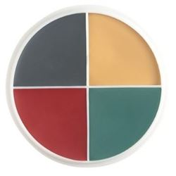 Picture of Bald Cap Stipple F/X Color Wheel
