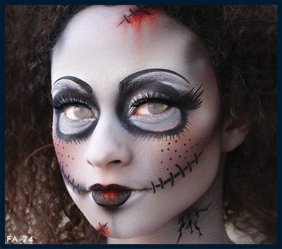 Studio F/X. Scary Baby Doll Stencil