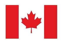 Picture of Canadian Flag Stencil