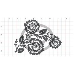 Picture of NX Collection #12 Rose Stencil