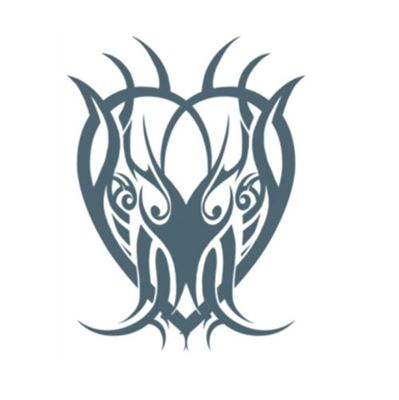 Picture of Tribal Heart Temporary Tattoo