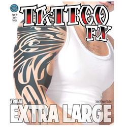 Picture of Extra Large Tribal Temporary Tattoo