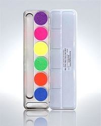 Picture of UV Dayglow Aquacolor Palette