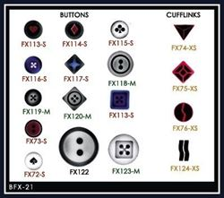 Picture of Buttons/Cufflinks Stencil