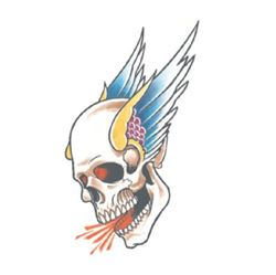Picture of Biker - Winged Skull