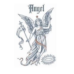 Picture of Angel Temporary Tattoo