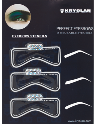 Picture of Eyebrow Stencil Kit