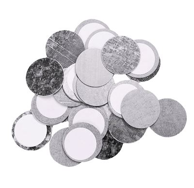 Picture of Round Metal Sticker - 30 pack