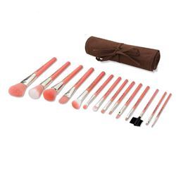 Picture of Pink Bamboo - 14pc Brush Set