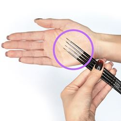 Picture of SuvaBeauty Liner Brushes