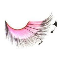 Picture of Pink and Black lash w/ Feather