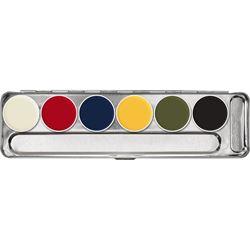 Picture of Kryolan 6 Color RMGP Palette