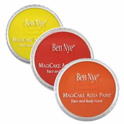 Picture of MagiCake Aqua Paints - Reds, Yellow's and Oranges