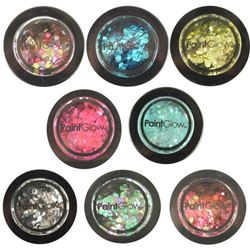 Picture of Paint Glow - Bio Degradable Chunky Glitter